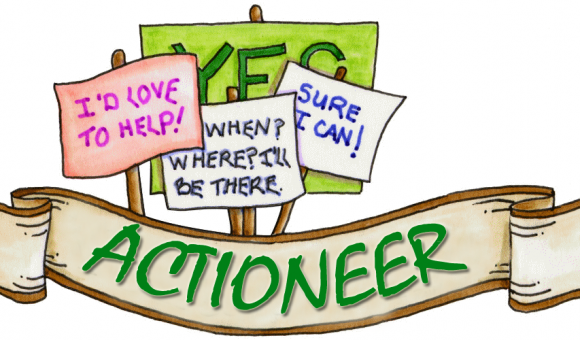 Actioneers are greater than Actions